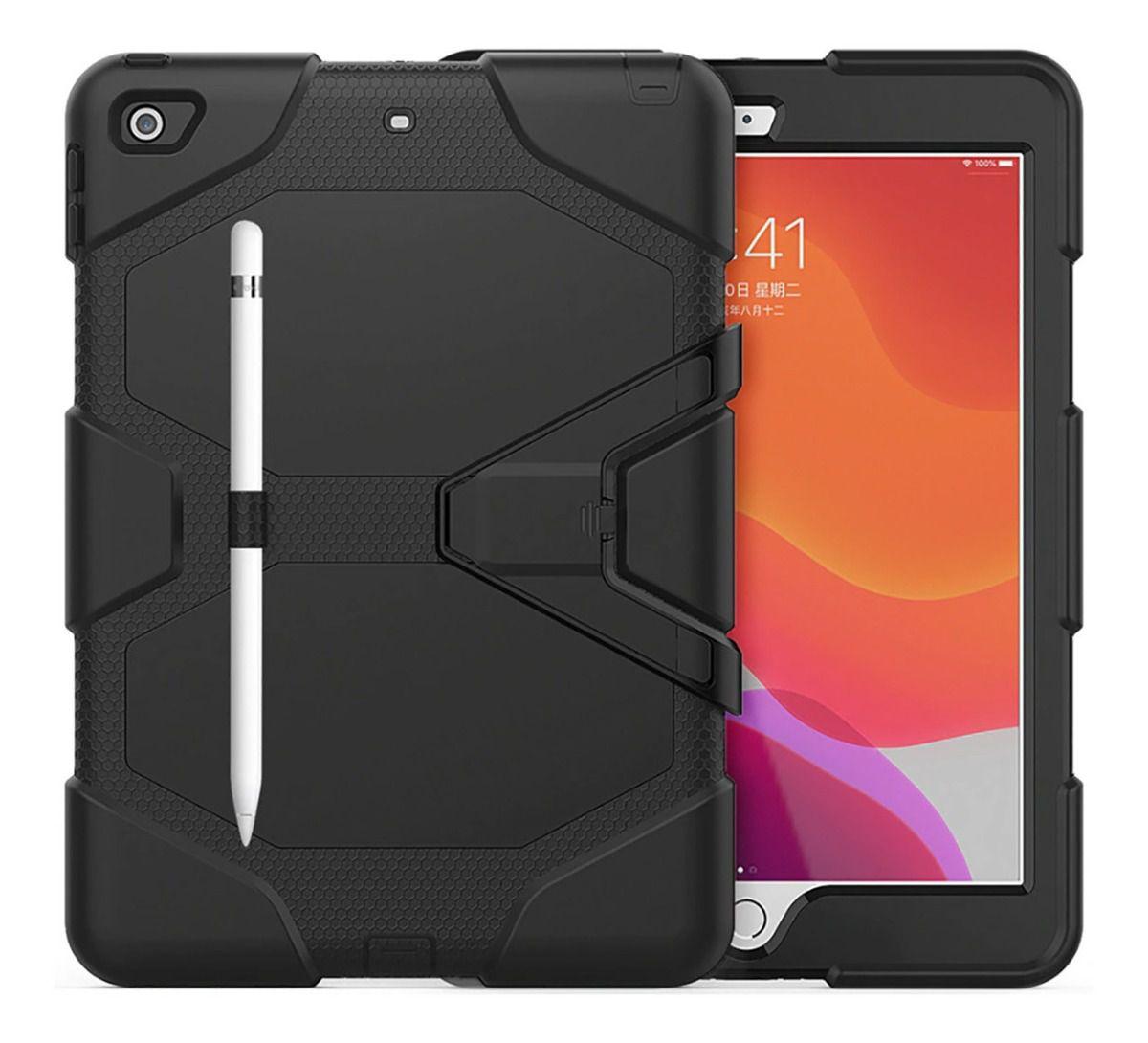 Capa Ipad 7 Apple Tela 10.2 A2197 A2200 A2198 Survivor Anti Impacto Queda Colisão