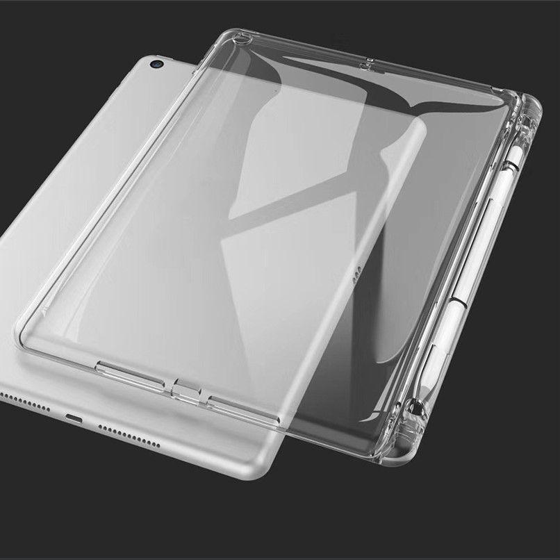 Capa iPad 7 Encaixe Apple Pencil Silicone Reforçado A2197 A2198 A2199 Tela 10.2''