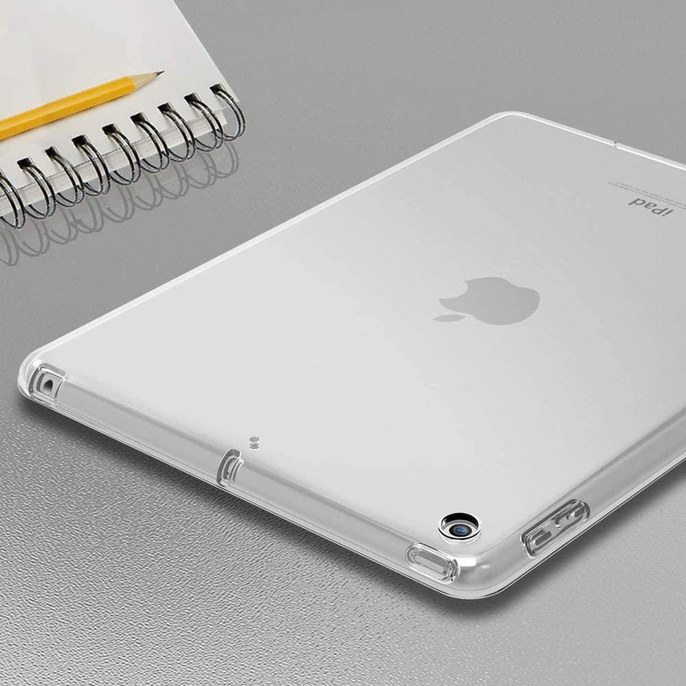 Capa Ipad 7 Tela 10.2 Traseira de Silicone Flexível A2197 A2198 A2199 (7ª Geração)