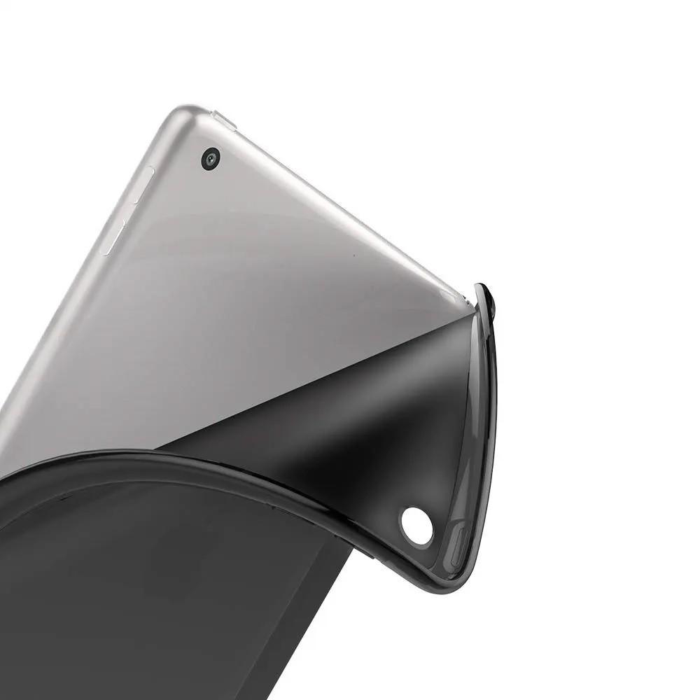Capa iPad 8 Apple 10.2 Traseira de Silicone Emborrachado A2270 Preta