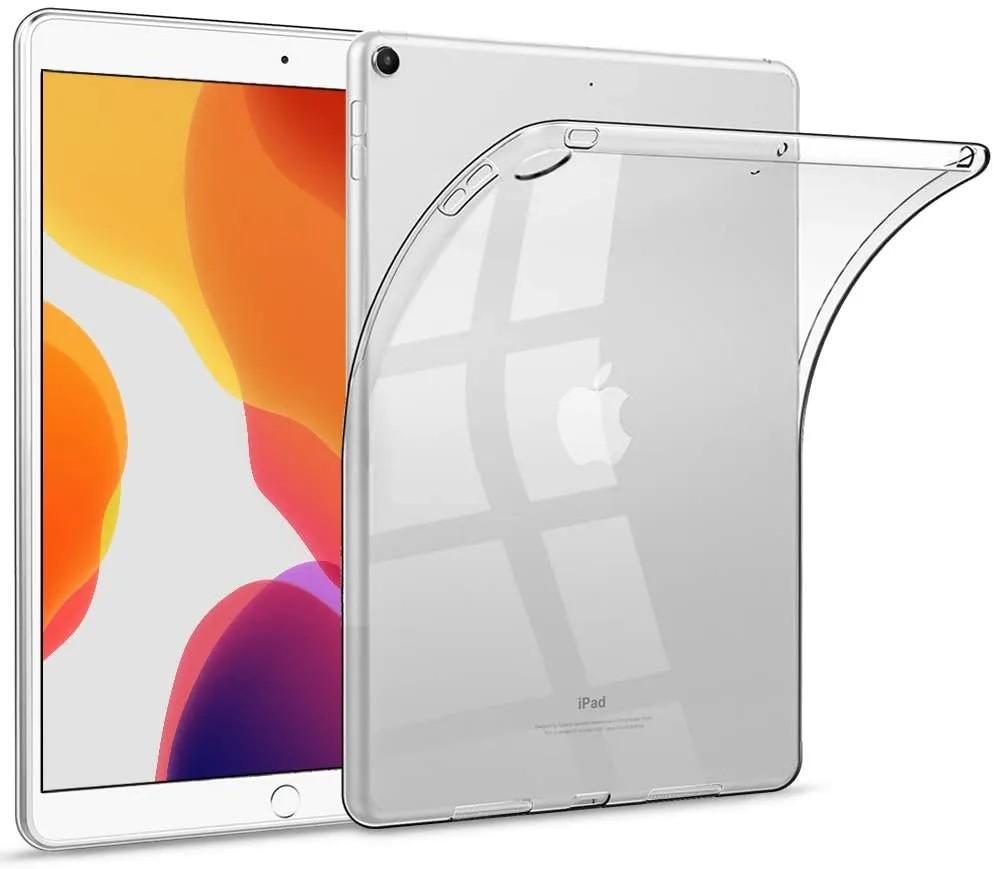 Capa Ipad 8 Tela 10.2 Traseira de Silicone Flexível A2270 (8ª Geração)