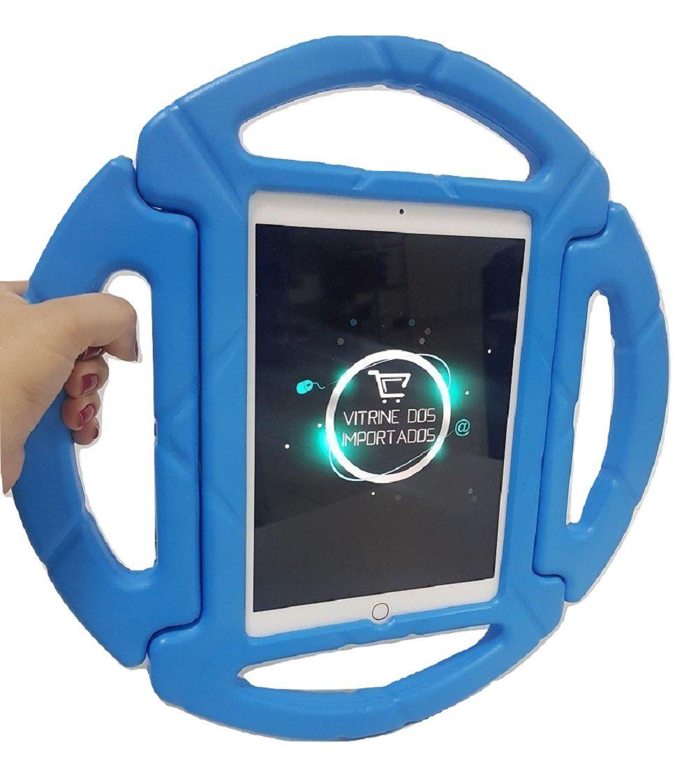 Capa Ipad 9.7 Apple 2017 A1822 A1823 Anti Choque Infantil Volante