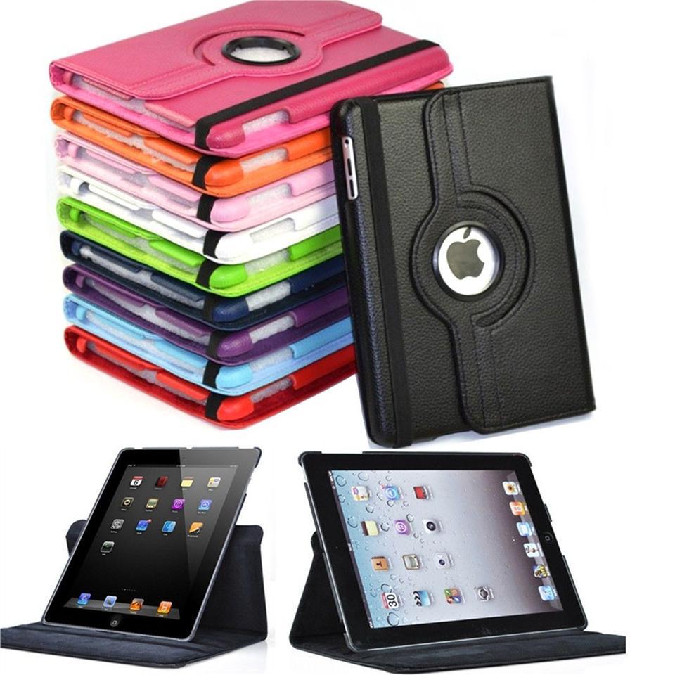 Capa Ipad Air 1 Apple A1474 A1475 A1475 Couro Sintético Giratória Coloridas