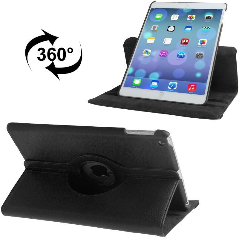Capa Ipad Air 1 Apple A1474 A1475 A1476 Giratória Preta