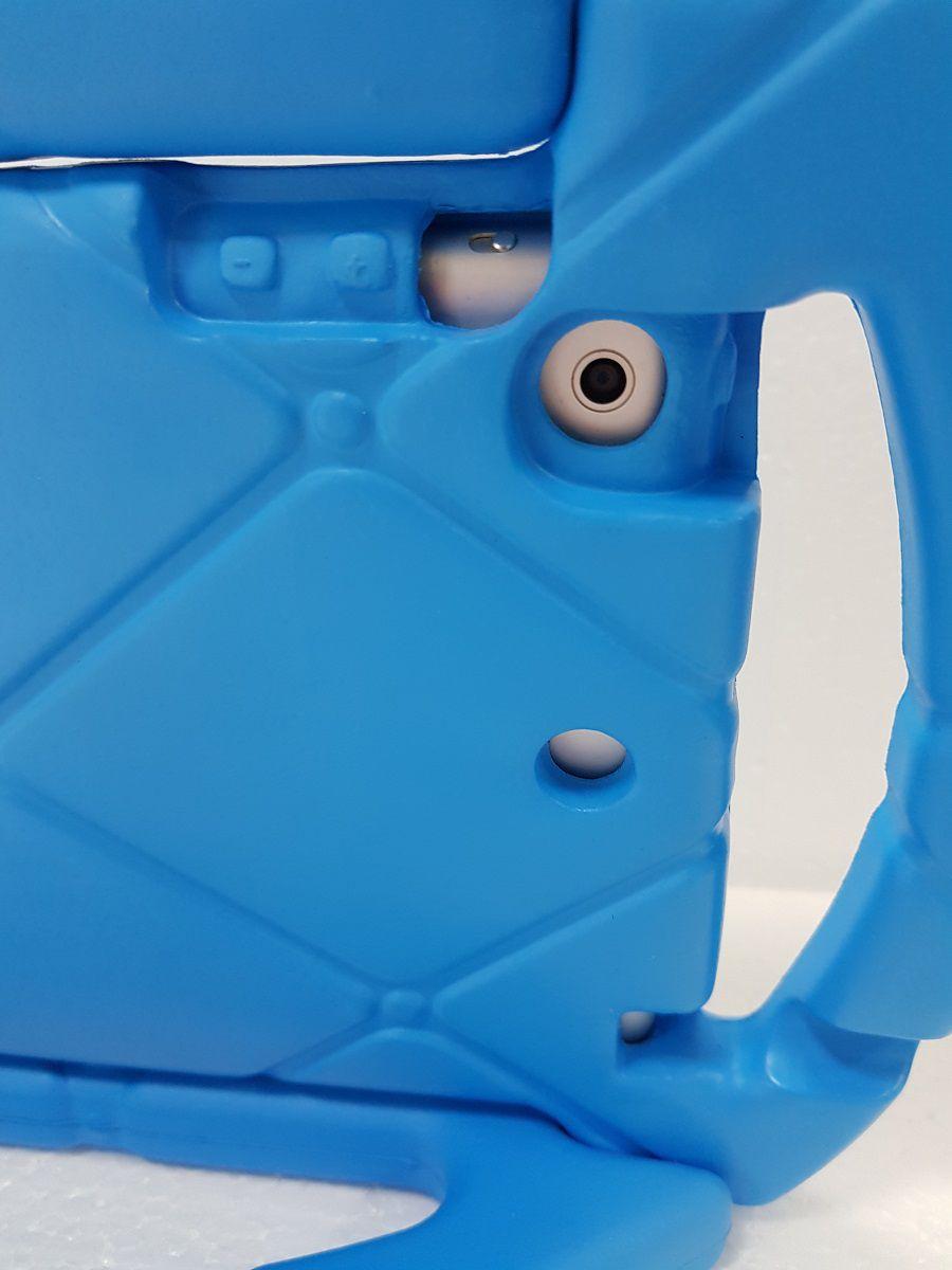 Capa Ipad Mini 1 2 3 Apple Anti Choque Infantil Volante Azul