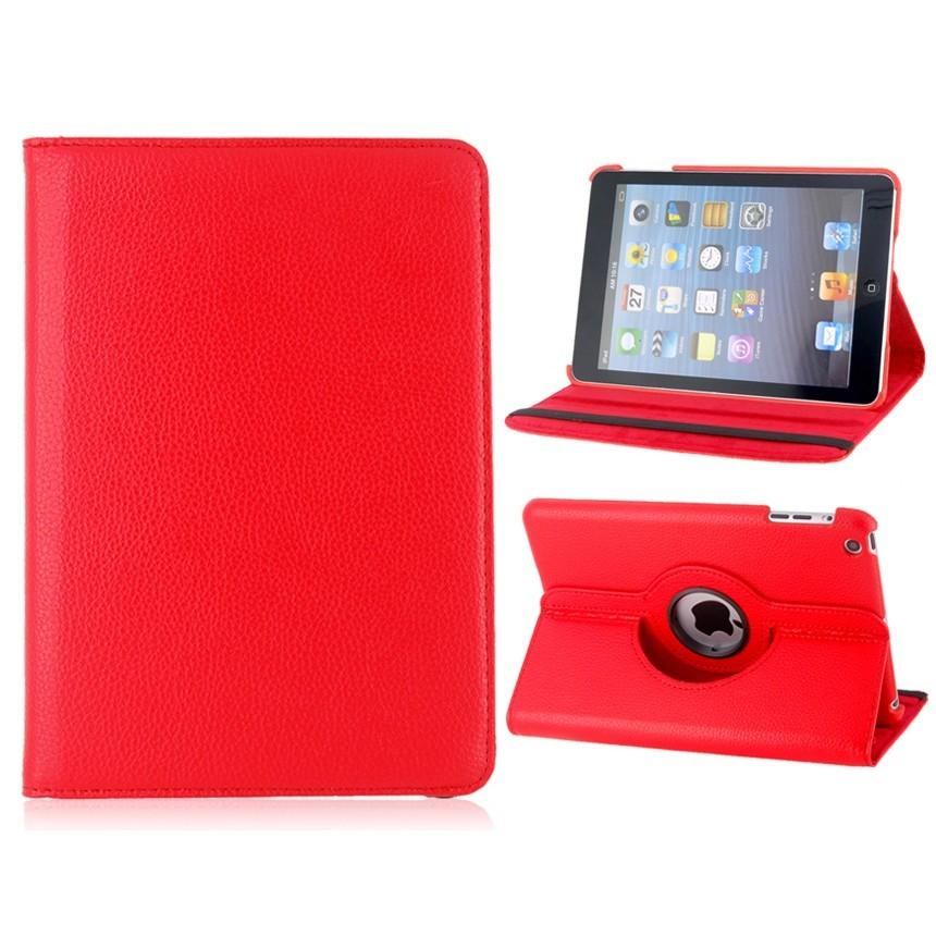 Capa Ipad Mini 1 2 3 Apple Giratória Executiva Couro Sintético