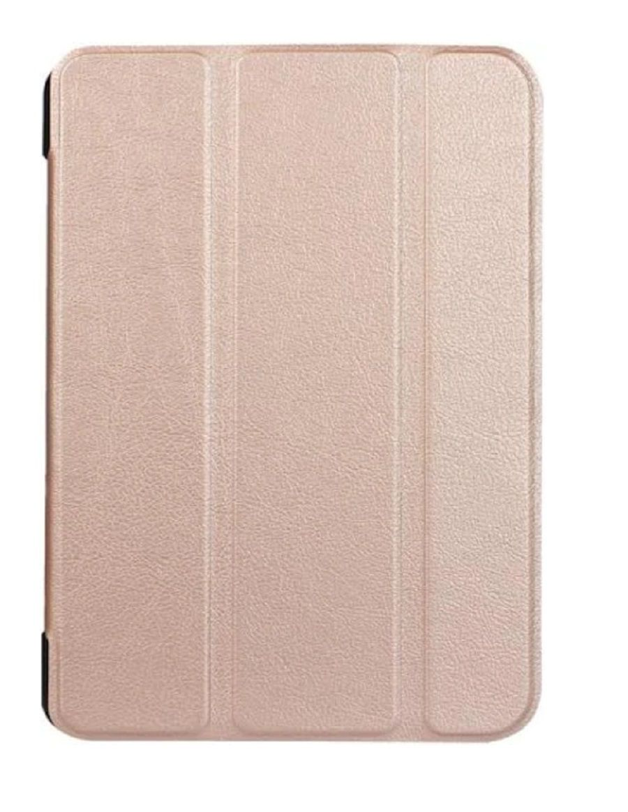 Capa Ipad Mini 1 2 3 Smart Case Rose Gold Frontal e Traseira Completa