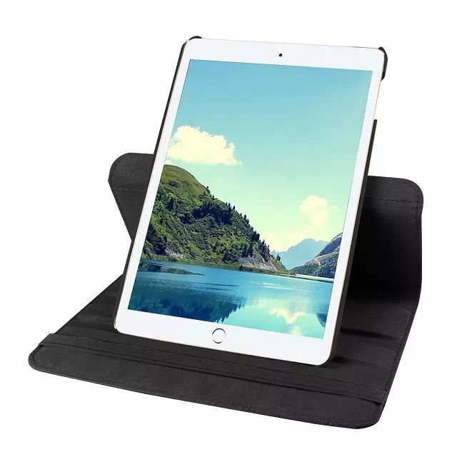 Capa Ipad Mini 4 Apple Couro Sintético Giratória com Apoio A1550 A1538
