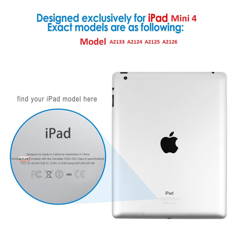 Capa Ipad Mini 5 Apple Rotativa Giratória A2133 A2124 A2125 A2133
