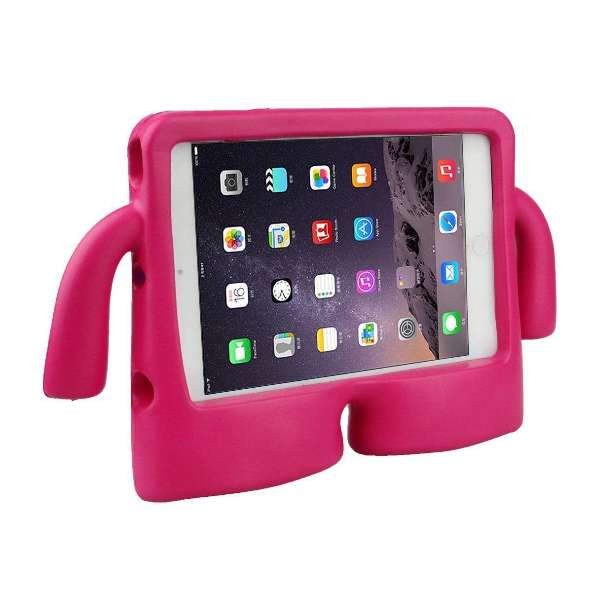 Capa Ipad Mini 5 Emborrachada Anti Impacto Infantil Braçinhos iGuy