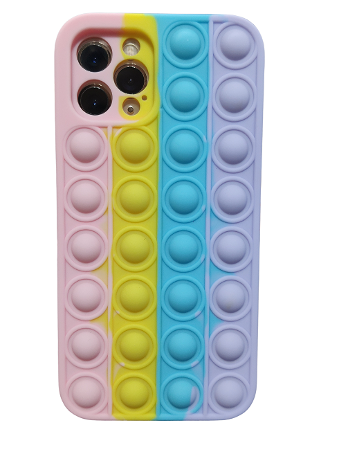 Capa Iphone 12 Pró Bolinhas Fidget Toy Pop Bubble Antistress Hype Instagram
