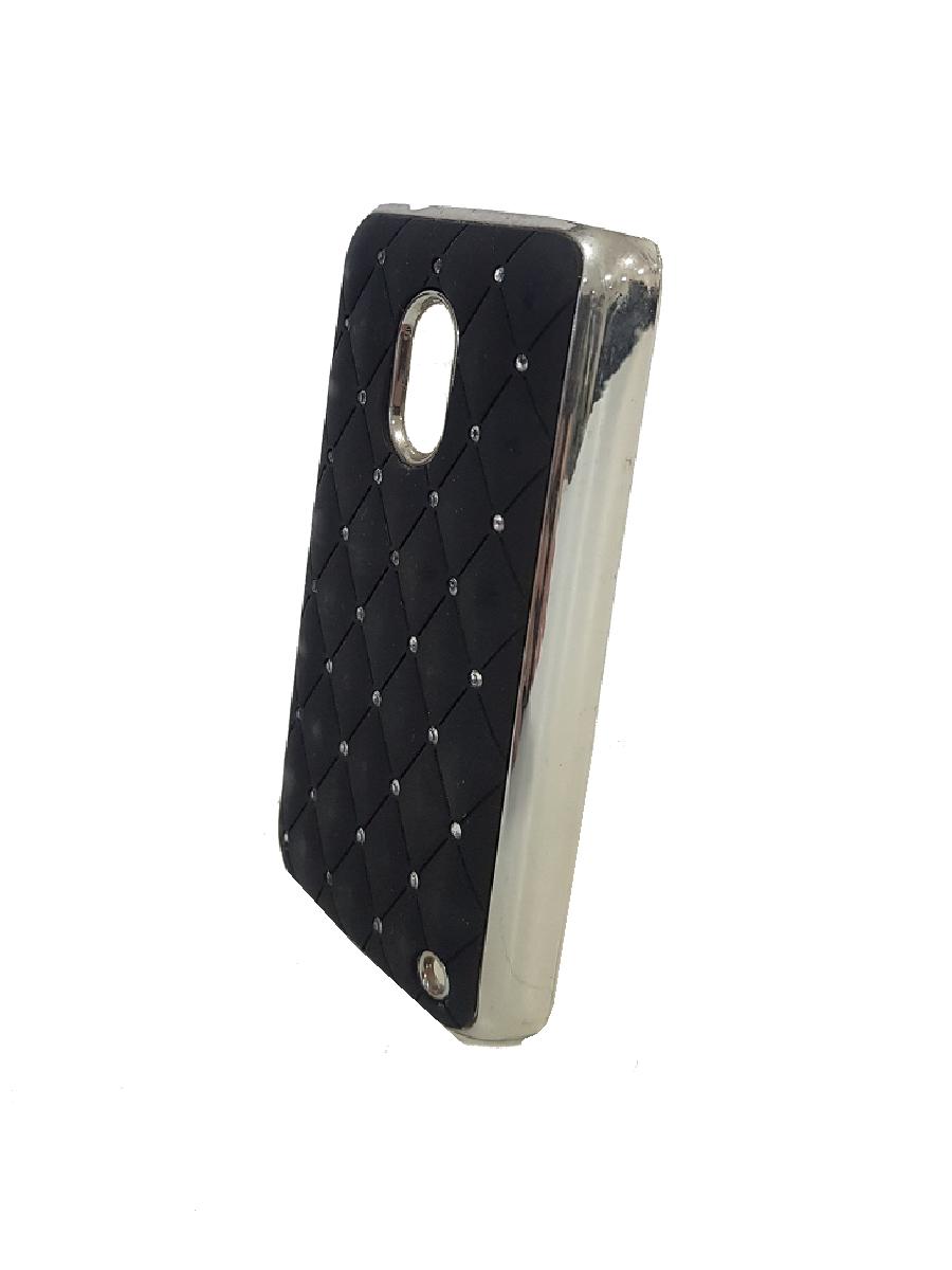 Capa Nokia Lumia n620 Strass Cravejados Luxo Preta