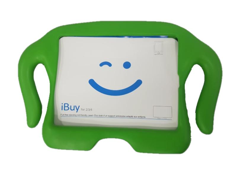 Capa para Ipad 2 3 4 Anti Impacto e Choque Infantil Emborrachada iGuy