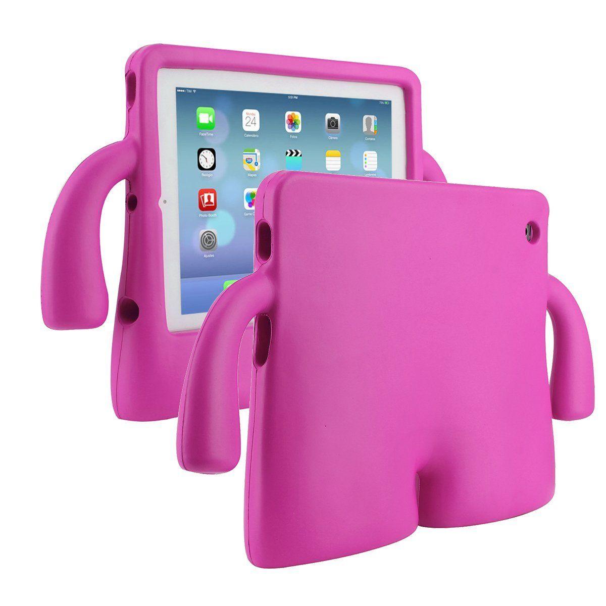 Capa para Ipad 2 3 4 Anti Impacto e Choque Infantil Emborrachada iGuy (Ano 2011/2012)