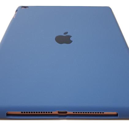 Capa para Ipad 6 Apple 9.7 Polegadas A1893 A1954 Traseira de Silicone Azul