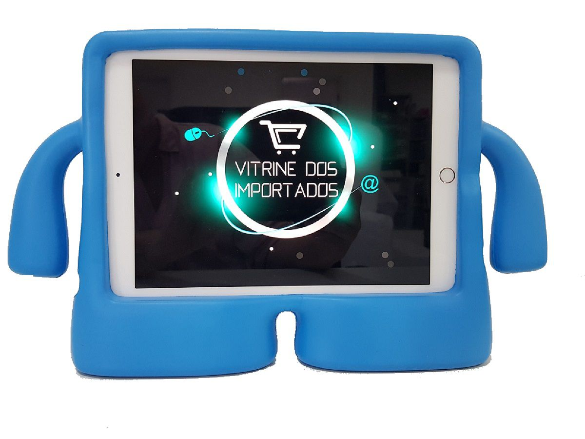 Capa para Ipad Air 1 Air 2 Anti Choque e Impacto Infantil Emborrachada iGuy