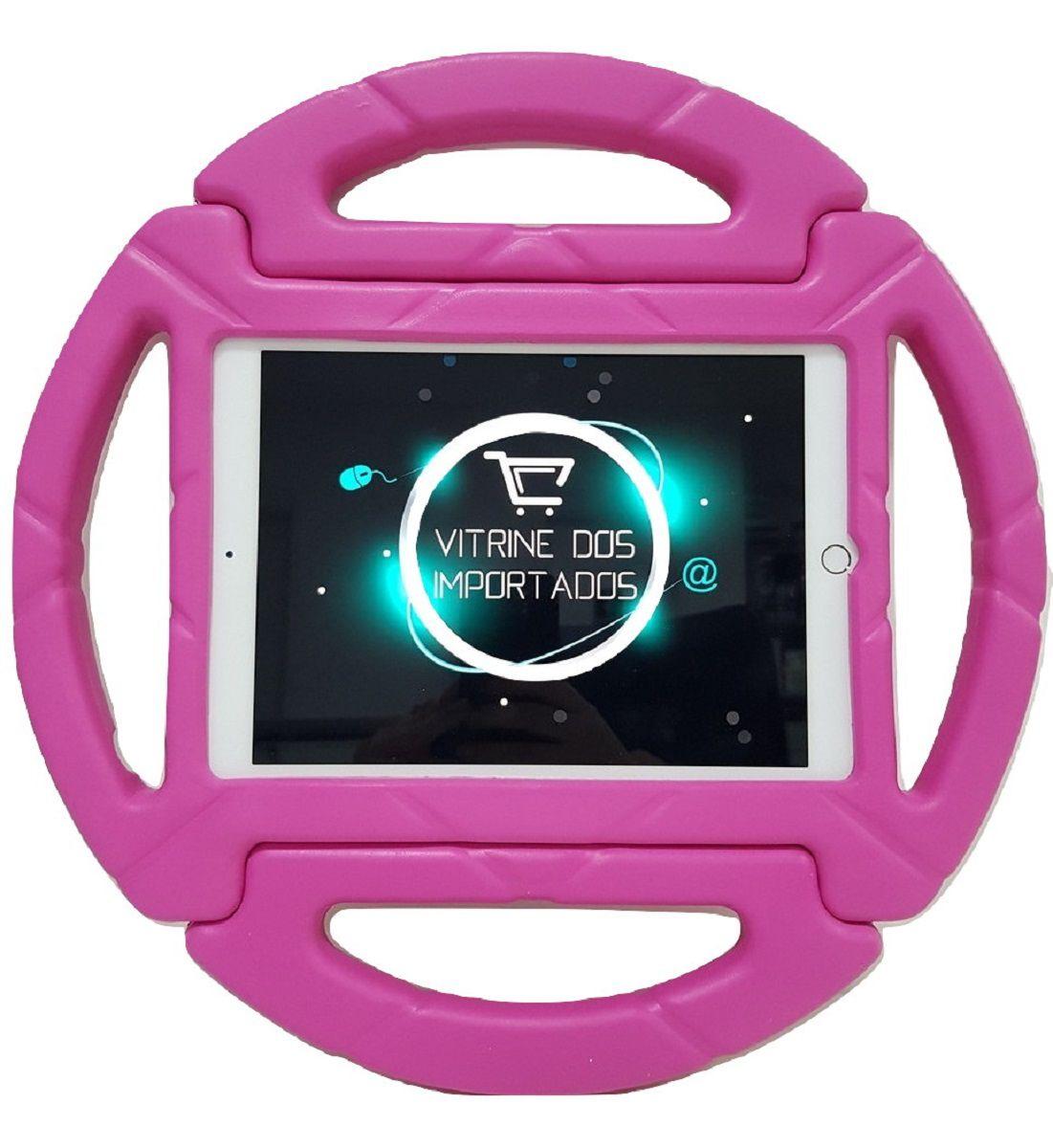 Capa para Ipad Air 1 Air 2 Apple Anti Impacto Infantil Volante