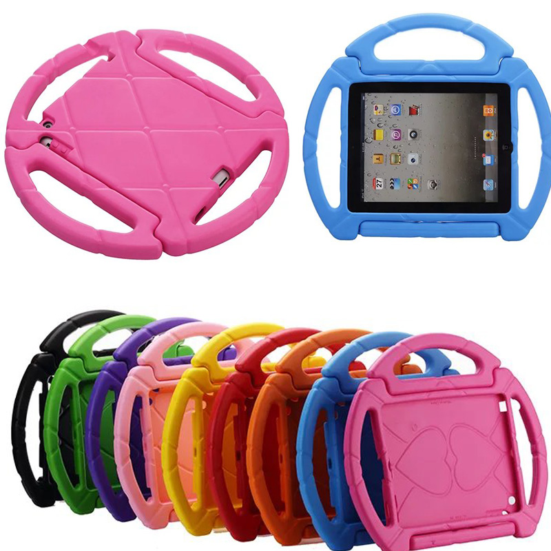 Capa para Ipad Air 1 Air 2 Apple Anti Impacto Infantil Volante