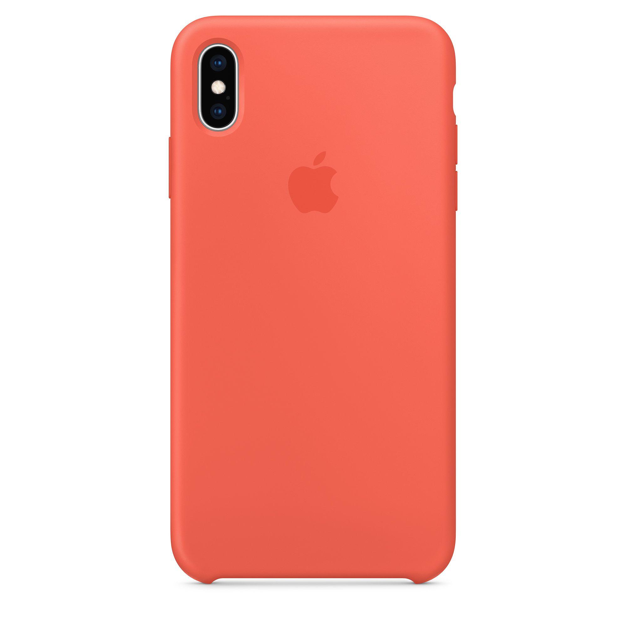Capa para Iphone Xs Max Apple Silicone com Logo Oficial Lacrada