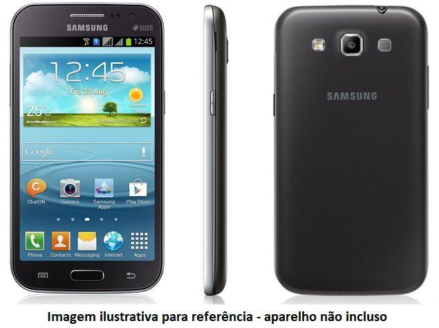 Capa para Samsung Galaxy Grand Quattro GT-i8552 Flip Cover Preta