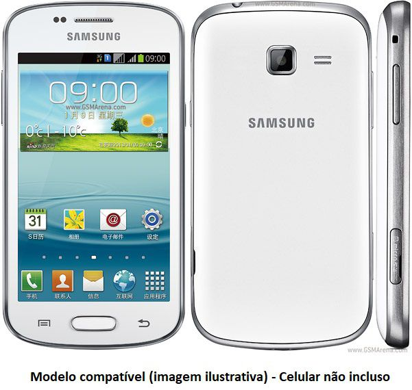 Capa para Samsung Galaxy Trend II s7572 Flip Cover Case