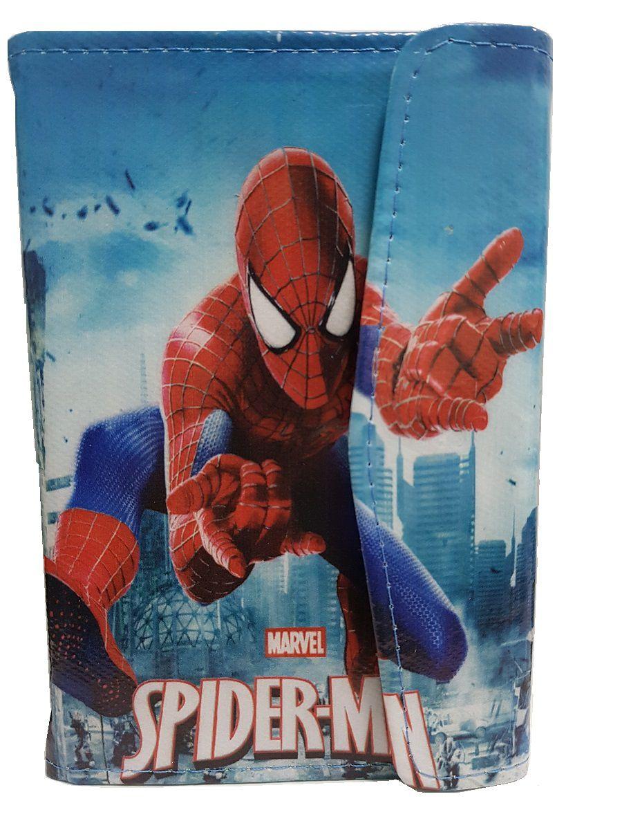 Capa para Tablet 7 Polegadas Ajustável Personagem Heróis Homem Aranha