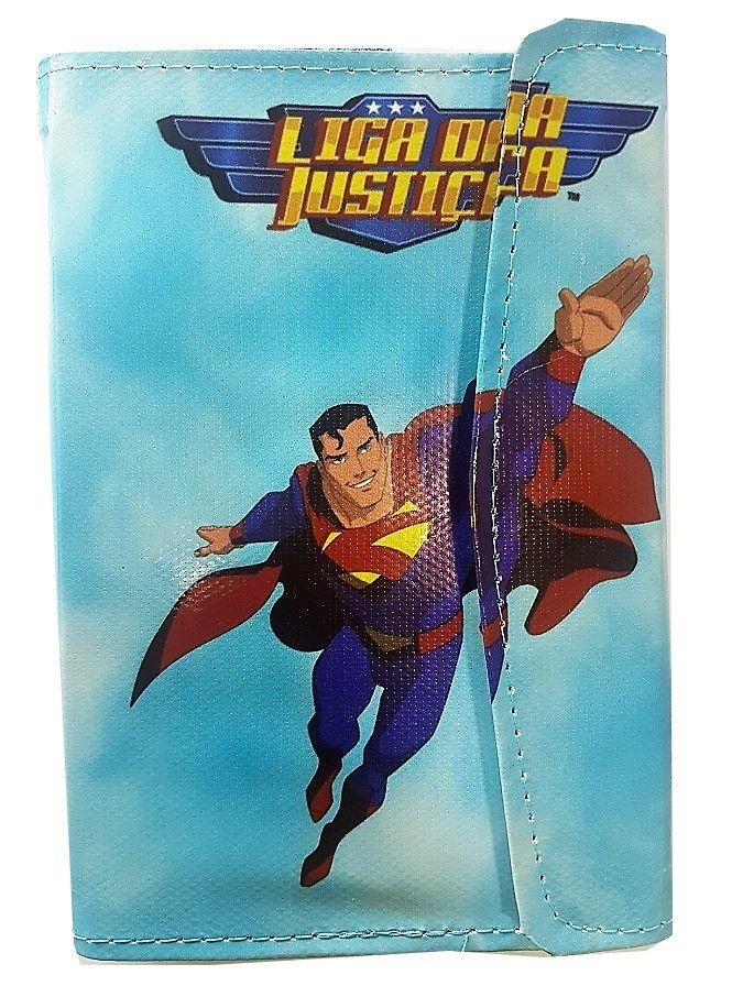 Capa para Tablet 7 Polegadas Ajustável Personagem Heróis Liga da Justiça