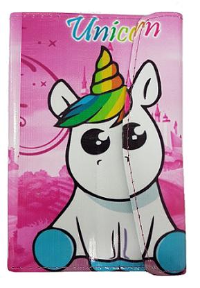 Capa para Tablet 7 Polegadas Ajustável Unicórnio 3D (Unicorn Rainbow)