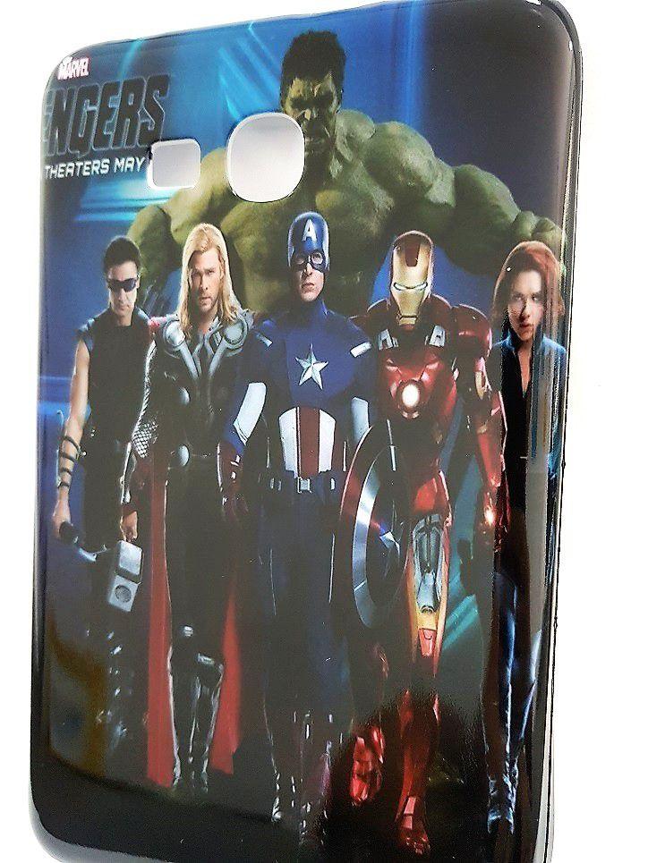 Capa para Tablet 7 Samsung Galaxy Tab T110 T111 T113 T116 Heróis Avengers Vingadores