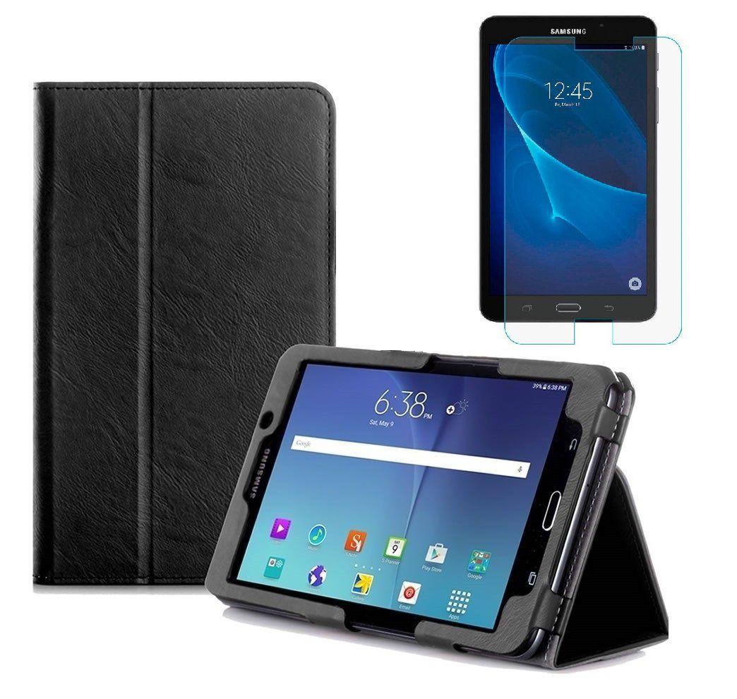 Capa para Tablet Samsung Galaxy Tab A 7.0 SM-T280 T285 Pasta Magnética + Película de Vidro