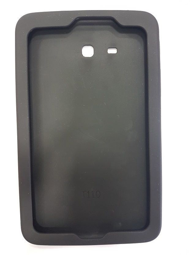 Capa para Tablet Samsung Galaxy Tab A 7.0 T280 T285 Traseira Silicone Preta