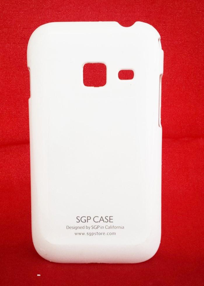 Capa Samsung Galaxy Ace Duos s6802 Rígida Branca