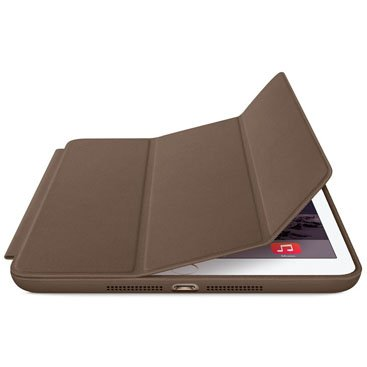 Smart Case Ipad 2 3 4 Apple Sensor Sleep Poliuretano Marrom