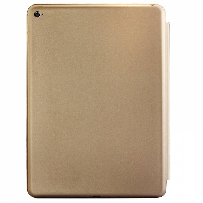 Smart Case Ipad 9.7 Apple 2017 A1822 A1823 Função Sleep Premium Dourada