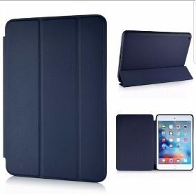 Smart Case Ipad Air 1 Apple Sensor Sleep Poliuretano Azul Marinho