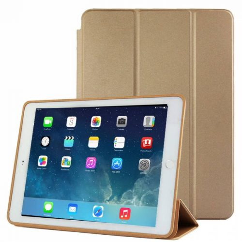 Capa Ipad Air 2 Apple A1566 A1567 A1568 Smart Case Premium Dourada