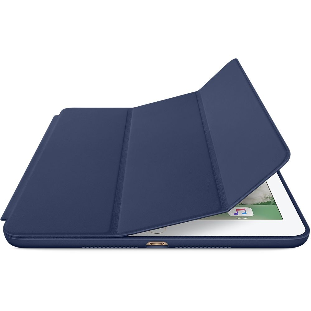 Smart Case Premium Ipad Air 2 Apple Sensor Sleep Azul Marinho