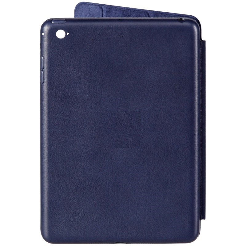 Smart Case Ipad Mini 4 Apple Sensor Sleep Poliuretano Azul Marinho