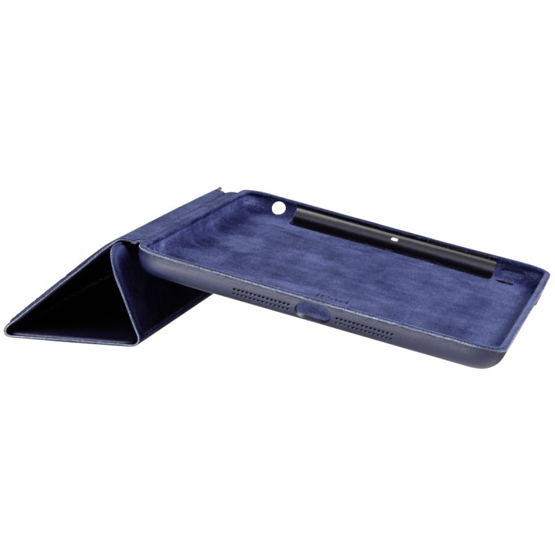 Smart Case Ipad Mini 4 Apple Sensor Sleep Poliuretano Azul Marinho