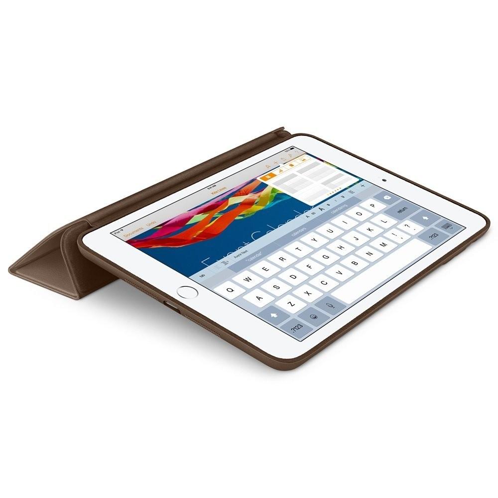 Smart Case Ipad Mini 4 Apple Sensor Sleep Poliuretano Marrom