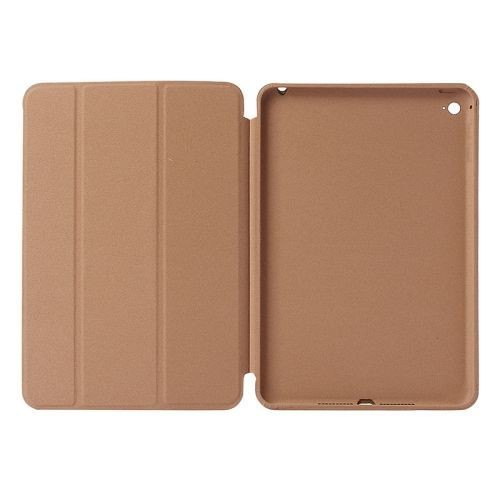 Smart Case Ipad Mini 1 2 3 Apple Sensor Sleep Poliuretano Dourada