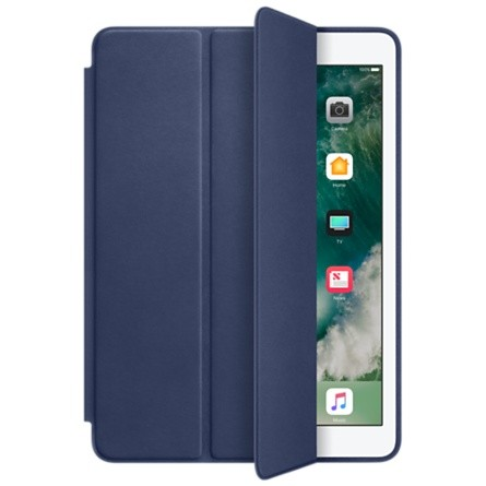 Smart Case Ipad Mini 1 2 3 Apple Sensor Sleep Poliuretano Azul Marinho