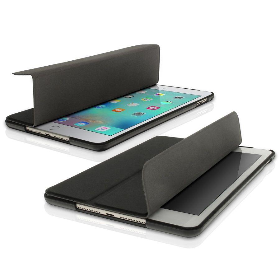 Smart Case Ipad Mini 1 2 3 Apple Sensor Sleep Poliuretano Preta