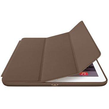 Smart Case Novo Ipad 9.7 Apple A1822 A1823 Função Sleep Poliuretano Marrom