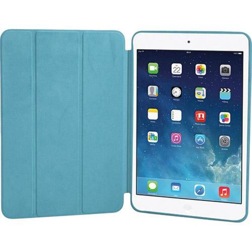 Smart Case Premium Ipad 9.7 Apple A1822 A1823 2017 Sensor Sleep Azul Claro