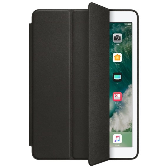 Smart Case Premium Ipad 9.7 Apple 2017 A1822 A1823 Sensor Sleep Preta