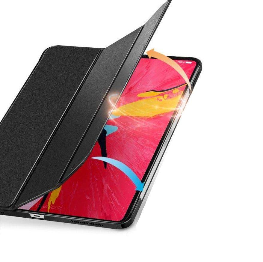 Capa Smart Case Ipad Pró 11 Apple 2018 Magnética Preta