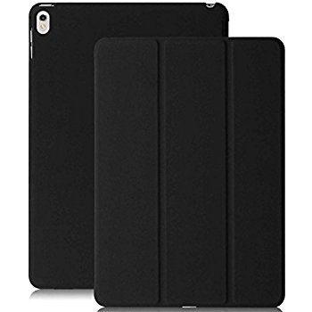 Smart Case Ipad Pró 12.9 Apple 2017 Função Sleep Poliuretano Preta