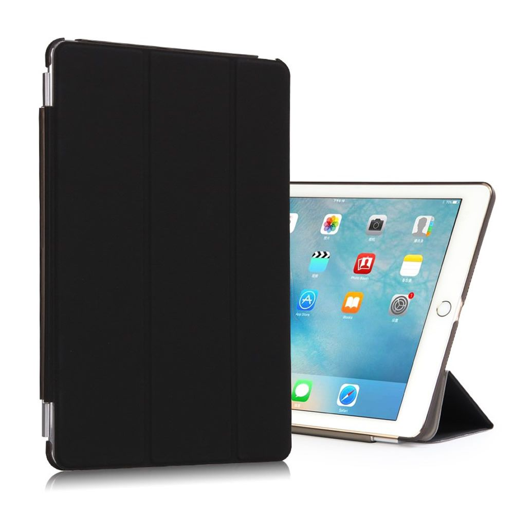 Capa Smart Case Ipad Pro 9.7 Apple A1673 A1674 A1675 Frontal + Traseira Preta