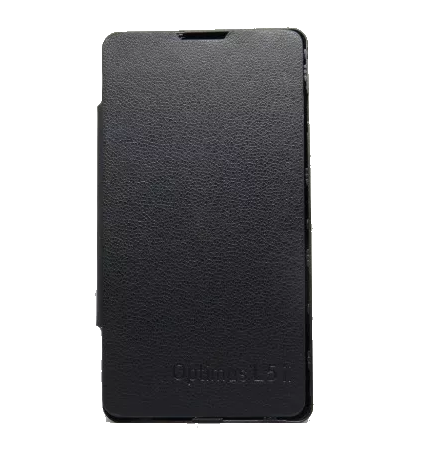 Capa Smartphone Lg Optimus L5 2 E450 Flip Cover Case Preta